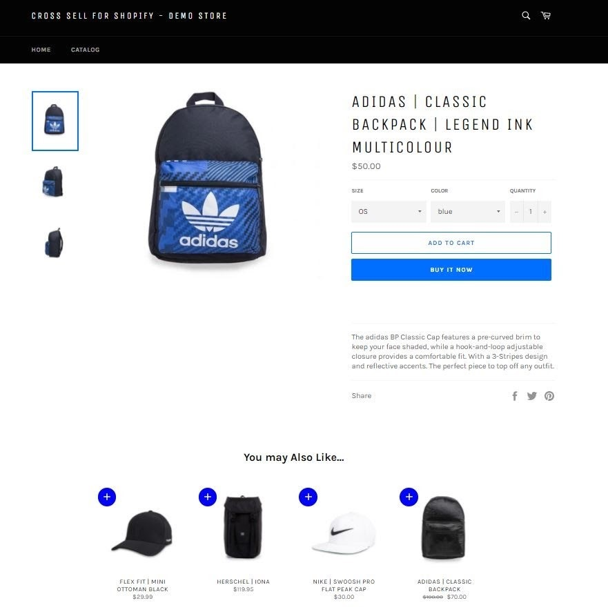 Cross Sell Shopify